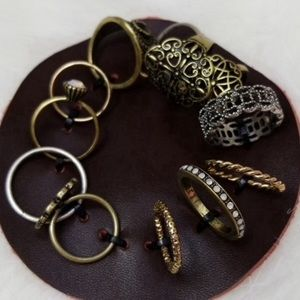Altar'd State Boho Layering Ring Jewelry Set